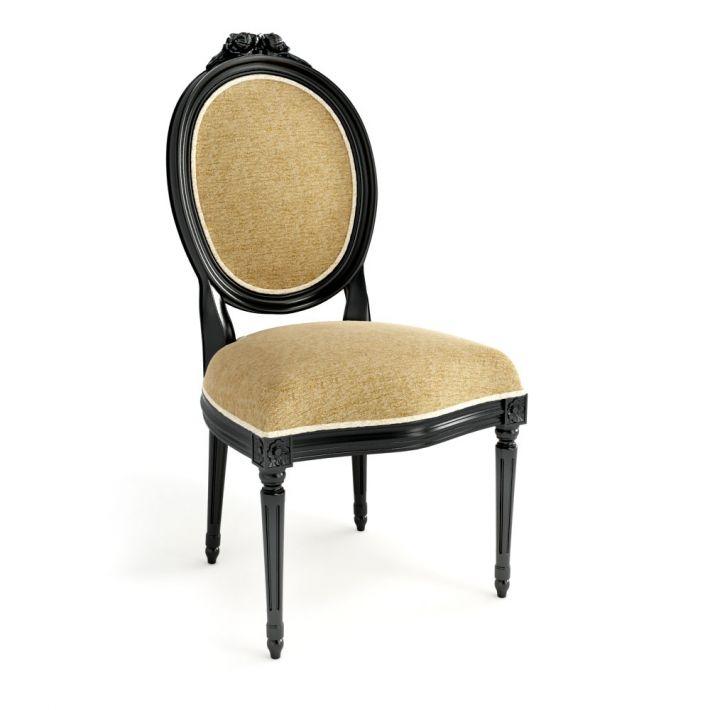antique chair 3d model obj mtl 1 - 3D Furniture Antique Chair CGTrader