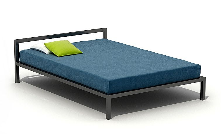 simple bed 3d model obj 1. 3D model Simple Bed   CGTrader