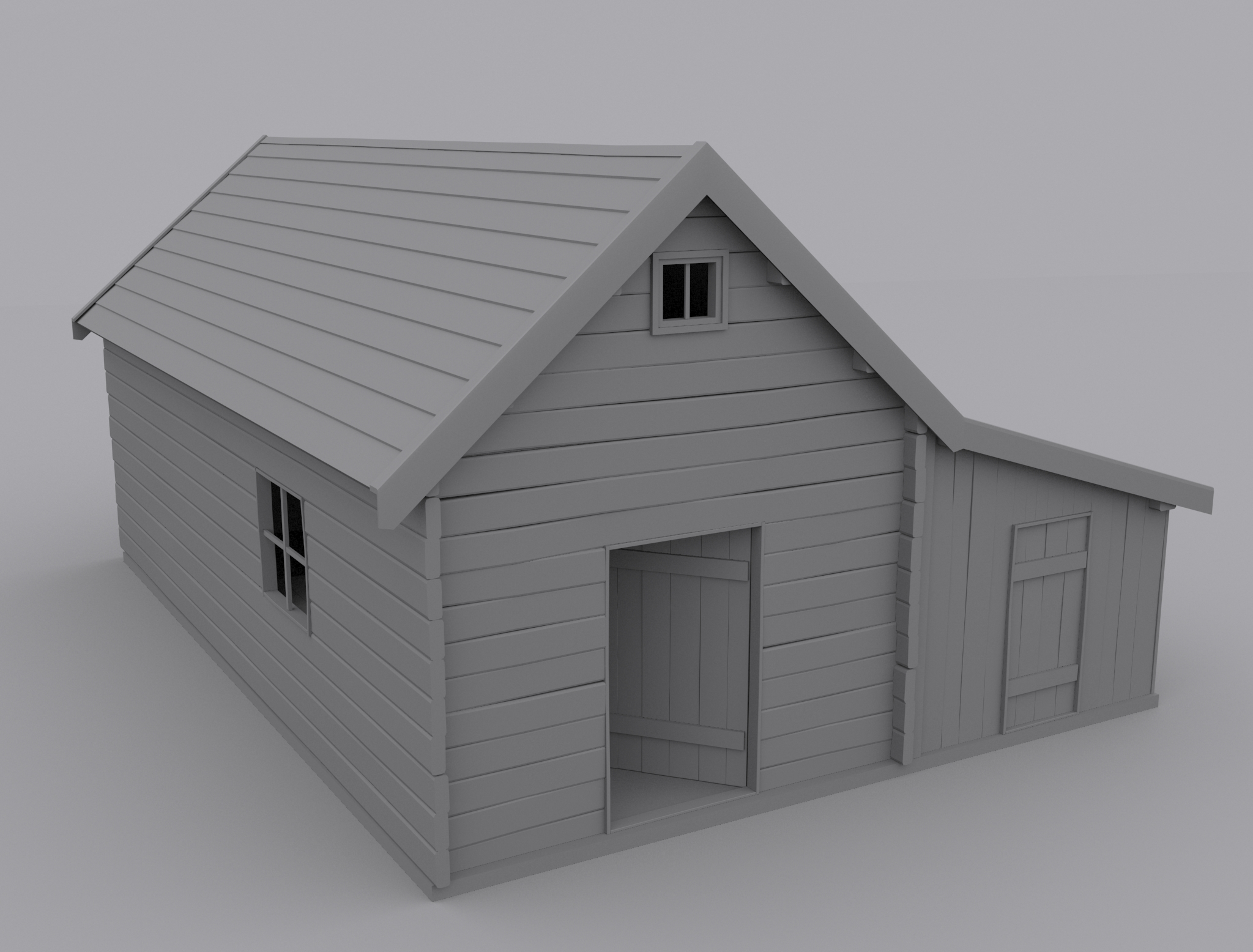 old house 3d model max 1 - 3d House Models