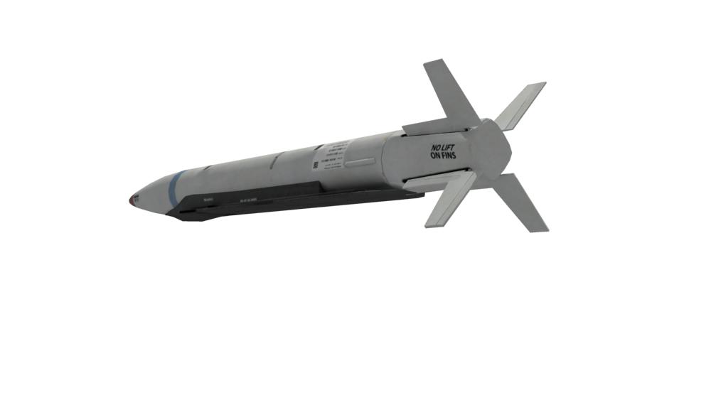Sdb Missile 3d Model Max Tga