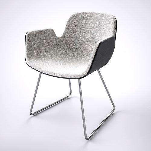 ... Chair Lapalma Pass 3d Model Max Obj Fbx Mtl 3 ...