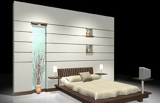 Wall bedroom designs