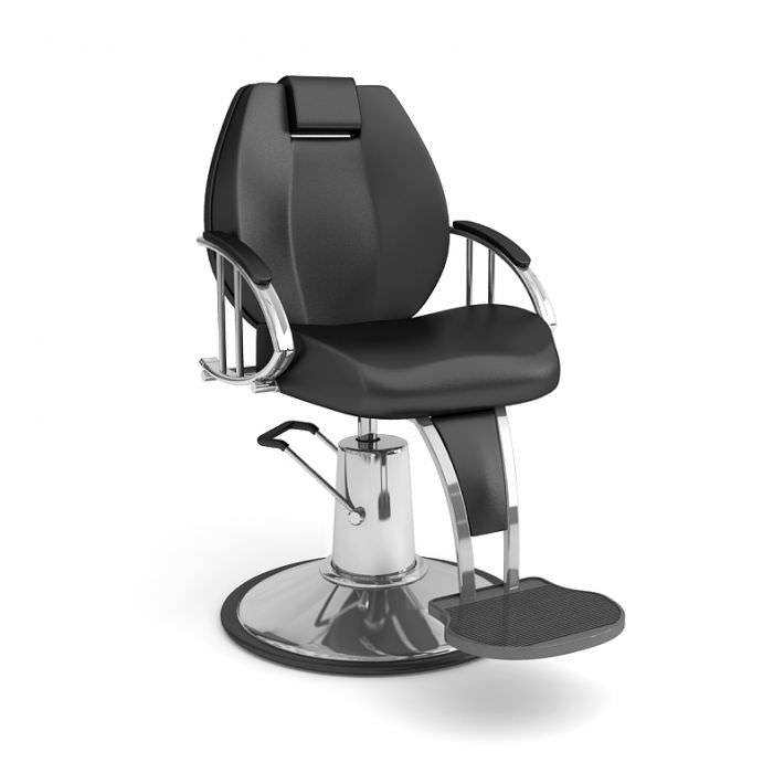 Delicieux Beauty Parlor Chair 3d Model Obj 1