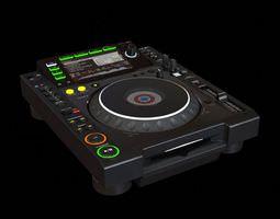 3D model Black Dj System