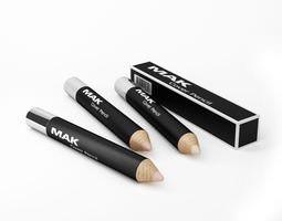 Mak Cosmetic Cover Pencil 3D