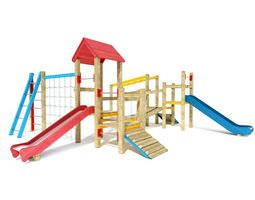 3d model kids outdoor playground equipment