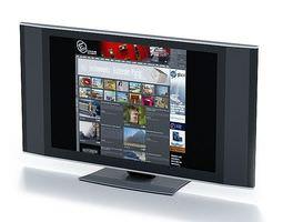 flat panel television 3d