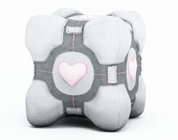3D Companion Cube Plush From Portal