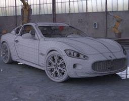 3D model Car Maserati Gt