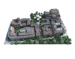 Large Cityscape 3D model