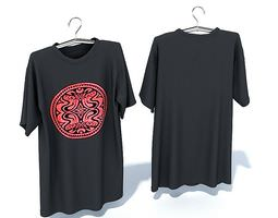 3D model Gray T Shirt