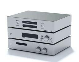 3D model Stereo Sound System