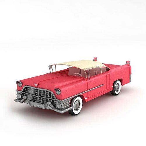 3D model Pink Cadillac | CGTrader