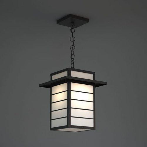 Asian paper lamp
