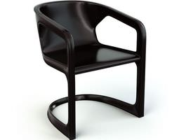 3D model Chair With Arm Rest