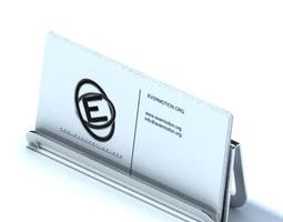 Business Card Holder 3D model