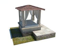 Outdoor Gazebo Patio Garden 3D model