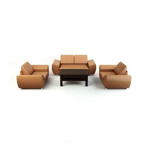 four peice living room couch set 3d model obj 1