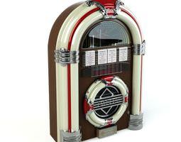 3D model Retro Classic Jukebox