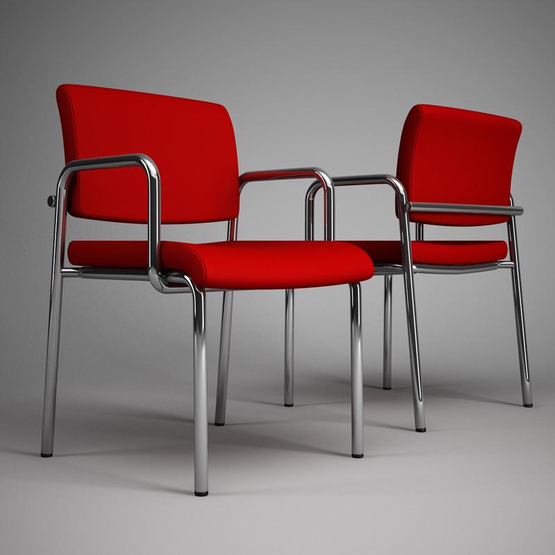 CGAxis Models Volume 11 fice Furniture 3D Model MAX OBJ