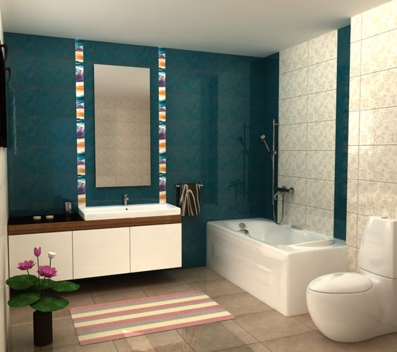 My bath design 3d model max obj 3ds mtl for Bathroom design 3d model