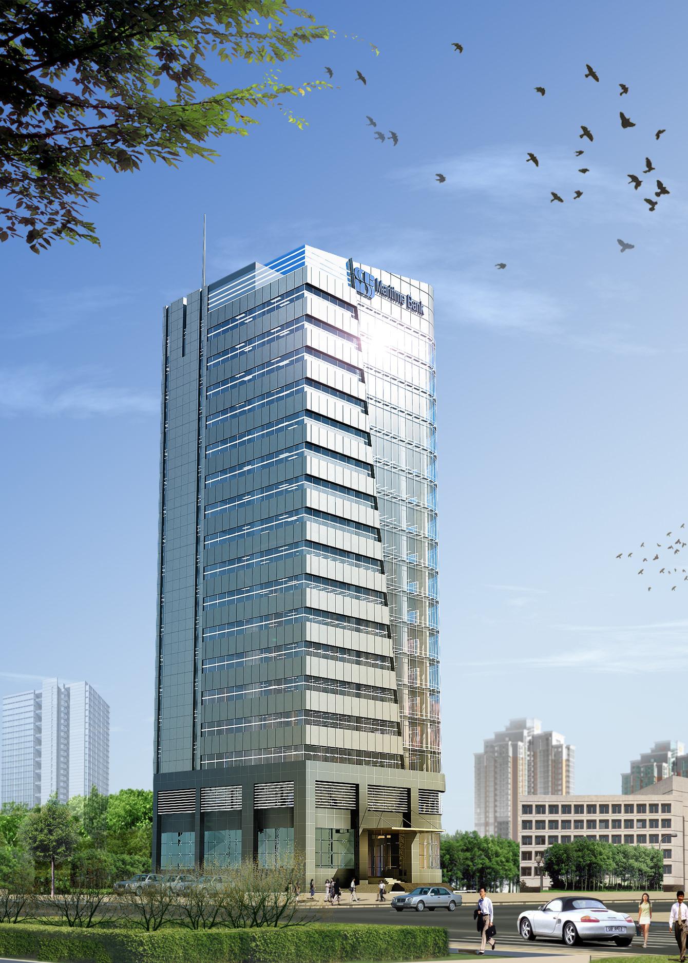 3d models skyscraper bank building 3d model max obj mtl for 3d max building