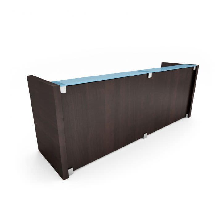 Office Reception Desk 3d Model 1