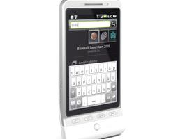 3d model white android smartphone