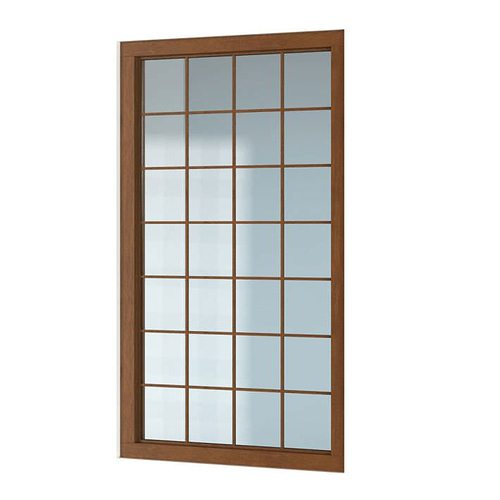Classic wooden window 3d model obj for Window 3d model