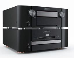 Sophisticated Music System 3D Model