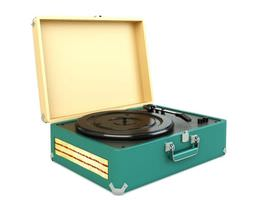 3d phonograph turntable for records