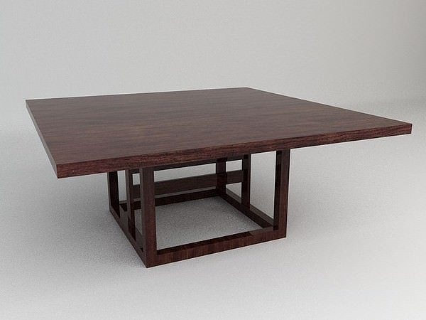 3d model dining table cgtrader for Dining table models