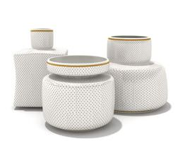 Service Set With Fifferent Jars 3D