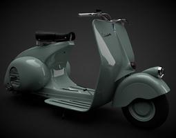 The Vespa 98 1946 3D Model