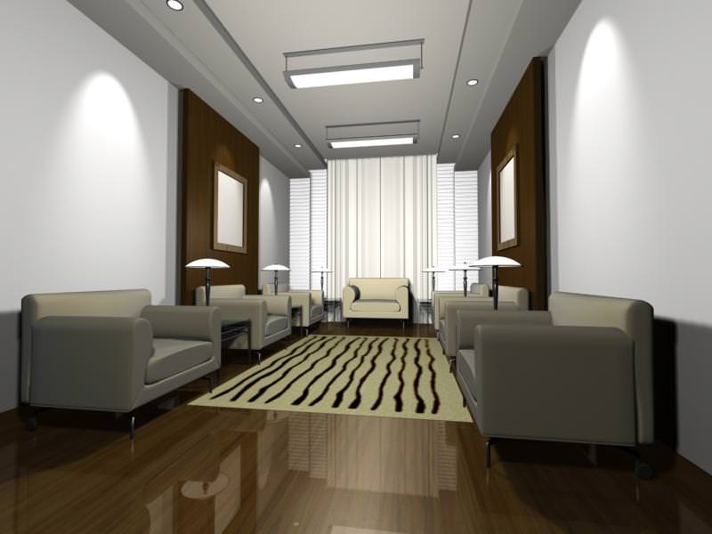 Luxury architectural Hall Lobby