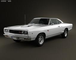 Dodge Coronet R T Coupe 1968 3D Model