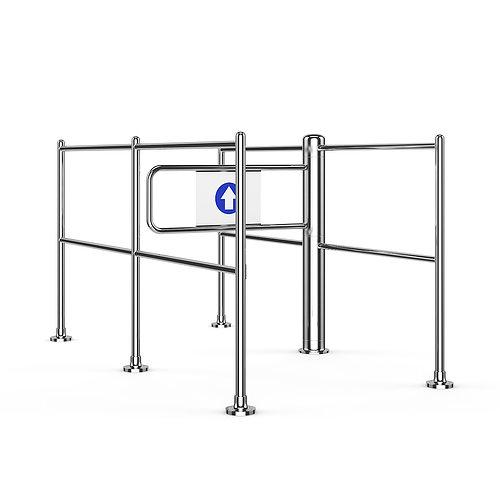 security gate 02 3d model max obj fbx c4d mtl 1