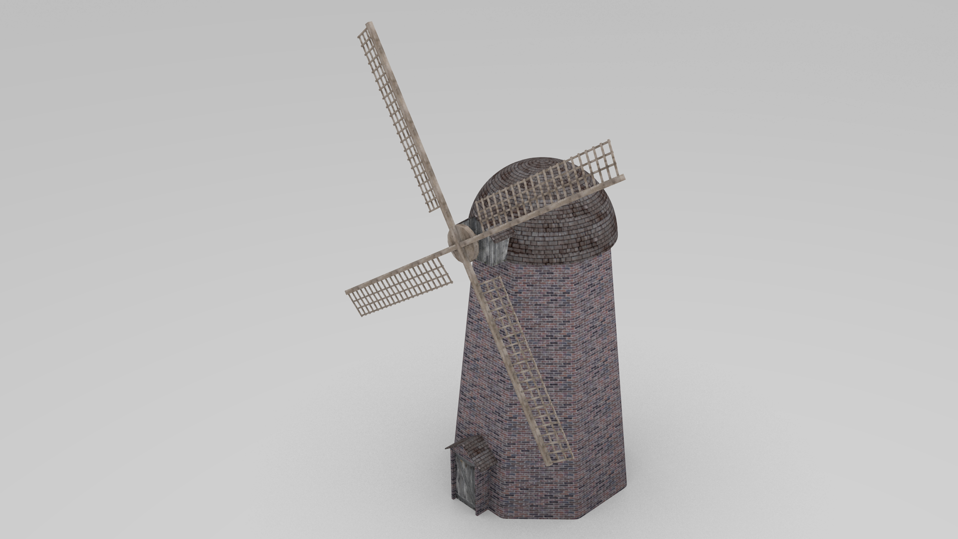 Animated wind mill