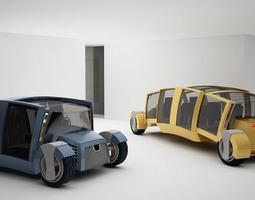 concept car armadillo 3D model