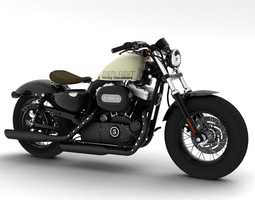 3d harley-davidson xl1200 sportster forty-eight 2014
