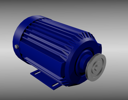 3D Electric motor