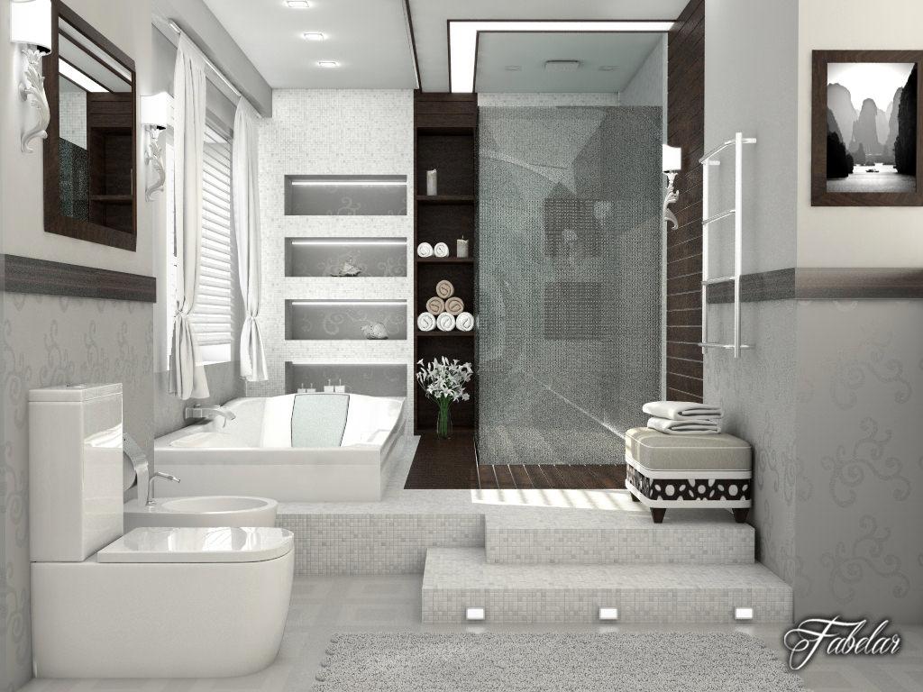 Bathroom Model bathroom collection 1 3d | cgtrader