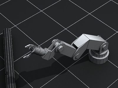 Mechanical Arm Jointed Animated