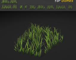 3D model Wild Grass Texture