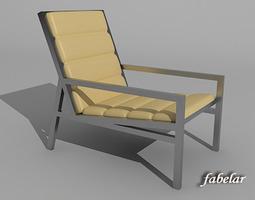 steel Chair 3D model