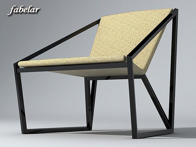 chair 3d model max obj mtl 3ds 1