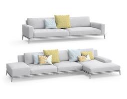 Poliform Park sofas 3D