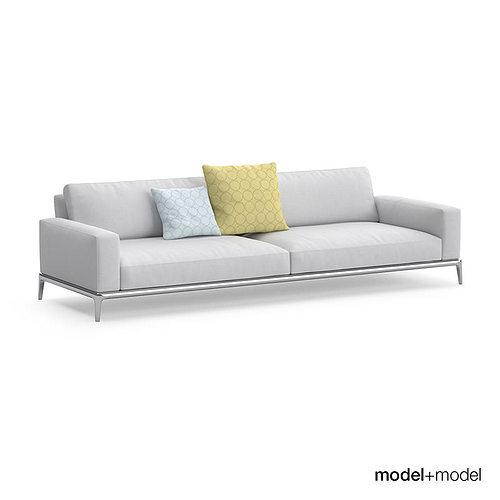 Poliform Park Sofas Model Max Obj Mtl Fbx 2