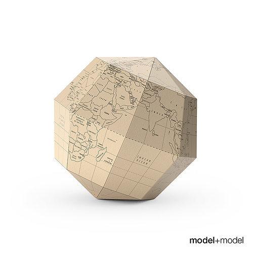 geografia paper globe 3d model max obj fbx mat 1