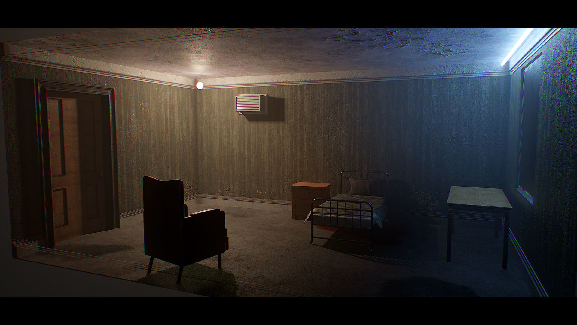 Old Dirty Room | 3D model